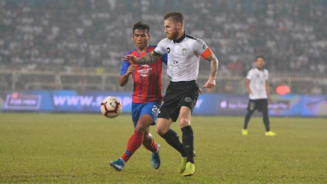 Terengganu FC went into the second leg with a plan but it was all thrown out of the window after a blistering first half from Johor Darul Ta'zim.