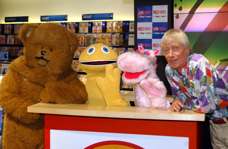 'Rainbow' stars Bungle, Zippy, George and Geoffrey (Credit: PA)