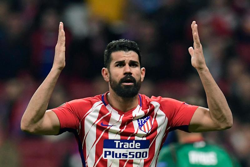 Exile | Diego Costa was told by Antonio Conte via text message to find a new club: AFP/Getty Images