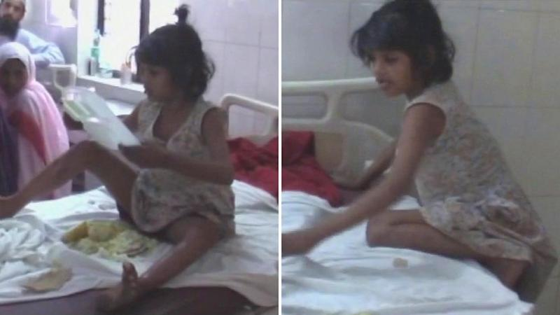 Eight-Year-Old Girl Found Living With Monkeys in UP's Bairach