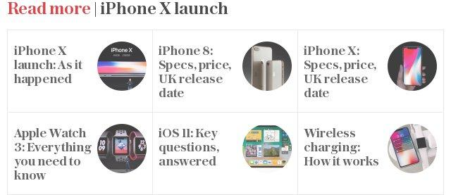 Read more | iPhone X launch