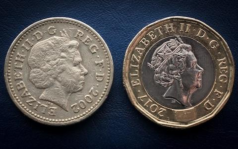 The round £1 coin is no longer legal tender - Credit: Getty Images