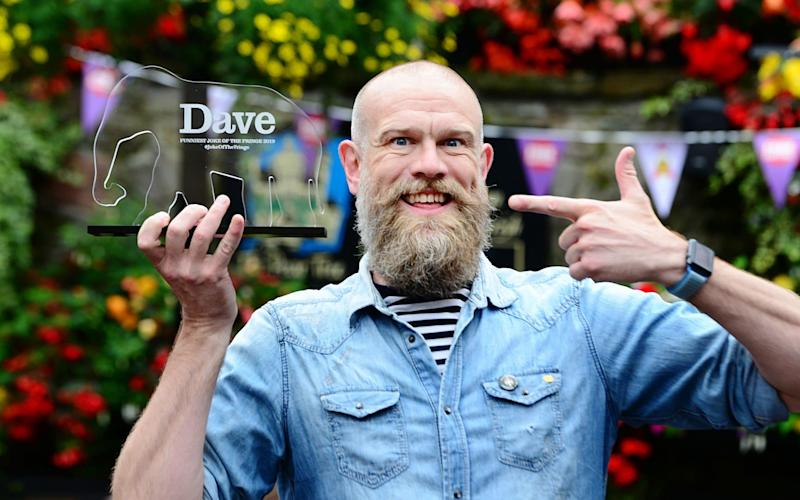 Olaf Falafel wins Dave's Joke of The Fringe prize 2019 - UK TV/Dave