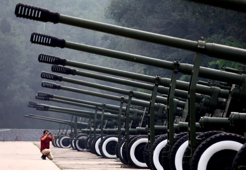 China has world's second-largest arms industry, think tank estimates