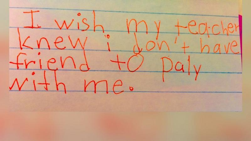 Colorado Teacher Shares Heartbreaking Notes From Third Graders