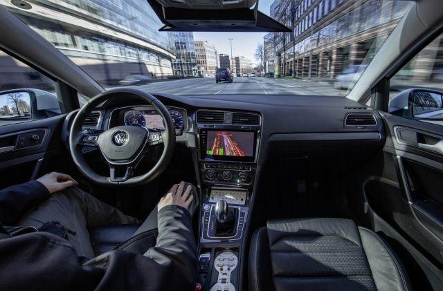 Volkswagen is testing level 4 autonomous driving in city center traffic