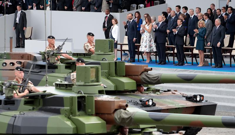 Pentagon: No Tanks for Military Parade Requested by Trump