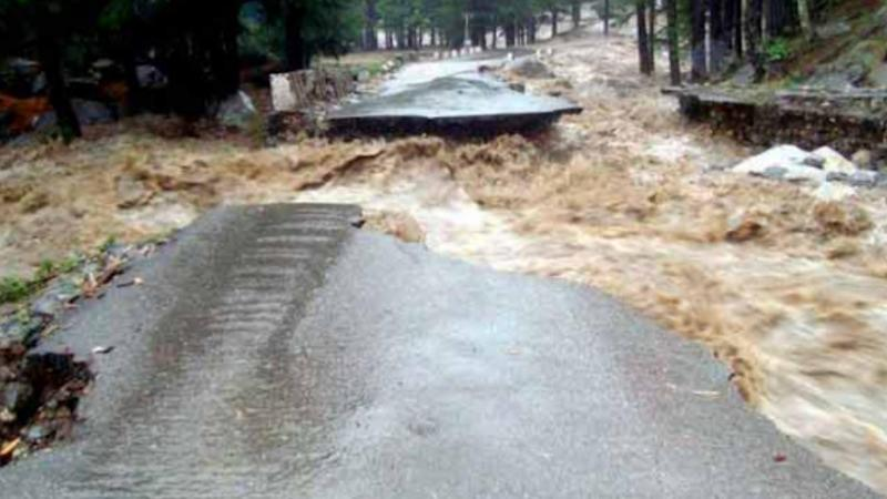 The Uttarakhand floods were devastating and destroyed alot of the infrastructure.