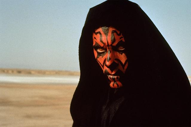 Ray Park as Darth Maul in <em>The Phantom Menace</em> (Photo: Mary Evans/Lucasfilm/Ronald Grant/Everett Collection)