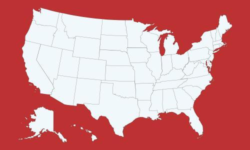 Coronavirus map of the US: latest cases state by state