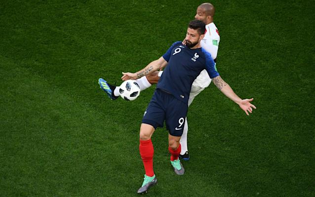 Olivier Giroud has many attributes required in a world-class forward - AFP