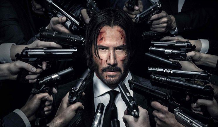 Keanu Reeves as John Wick - Credit: Lionsgate