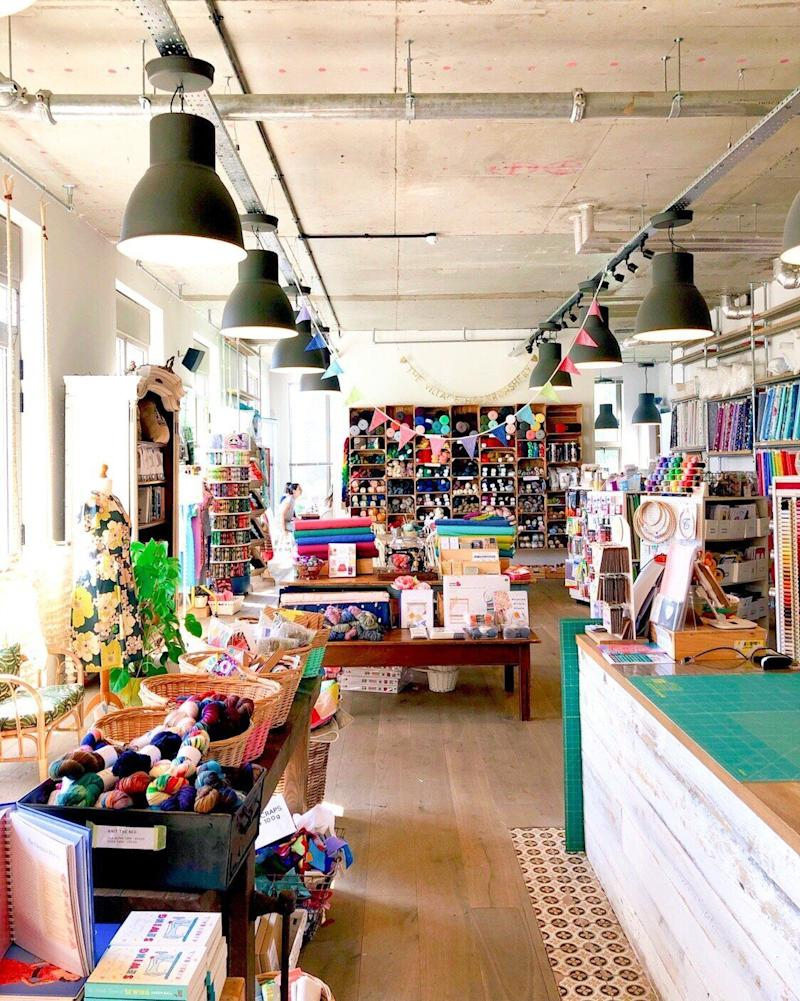 The Village Haberdashery, owned by Annie Barker. (Photo: The Village Haberdashery)