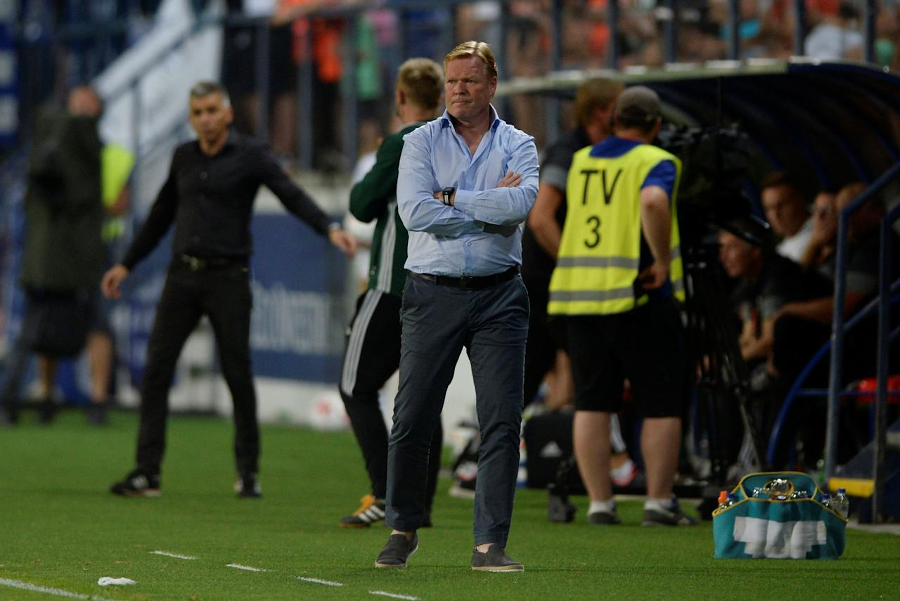 Soccer Football - Europa League - MFK Ruzomberok vs Everton - Third Qualifying Round Second Leg - Ruzomberok, Slovakia - August 3, 2017     Everton manager Ronald Koeman    Action Images via Reuters/Adam Holt  optaID:6gr5hvcsol3jxini0nx0zdox6