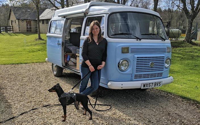 Bluebell the campervan was the perfect host for post-lockdown staycation - Lottie Gross