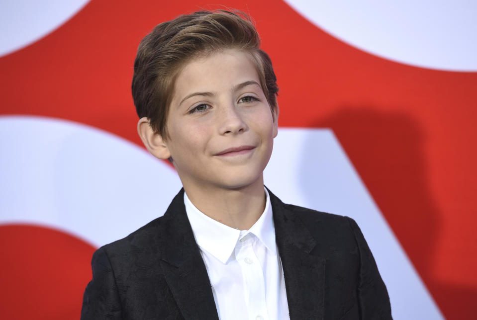 "Jacob Tremblay arrives at the premiere of ""Good Boys"" on Wednesday, Aug. 14, 2019, at the Regency Village Theatre in Los Angeles. (Photo by Chris Pizzello/Invision/AP)"
