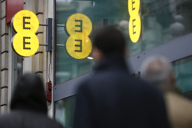 EE Mobile Phone Stores As U.K. Companies Agree To Cap Unexpected Charges
