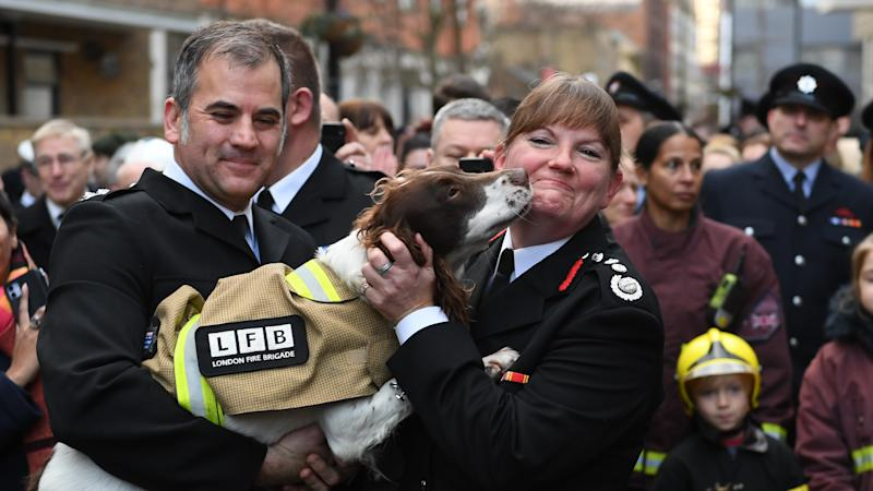 Firefighters pay tribute to service chief stepping down after Grenfell criticism