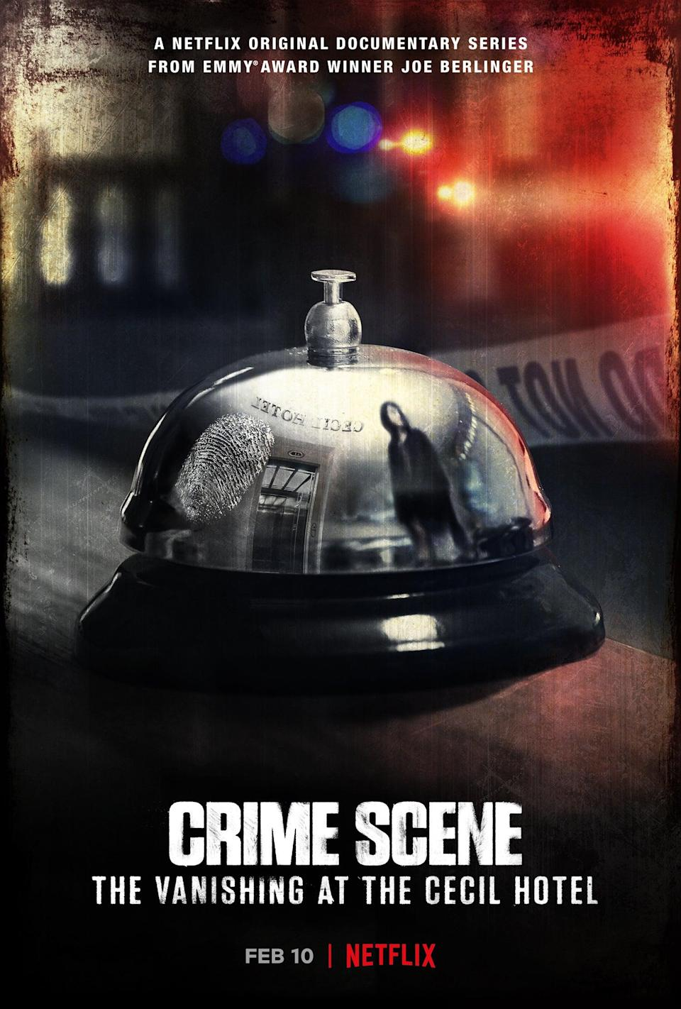 Crime Scene: The Vanishing at the Cecil Hotel comes to Netflix from director Joe BerlingerNetflix
