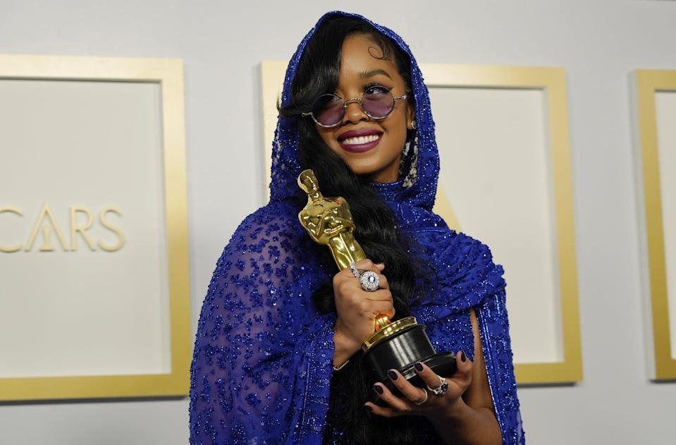 <ul> <li><strong>Has:</strong> An Oscar for <strong>Judas and the Black Messiah</strong> and four Grammys</li> <li><strong>Needs:</strong> A Tony and an Emmy</li> </ul>