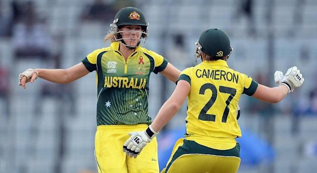 Cricket Australia has offered to more than double elite women players' pay (AFP Photo/PRAKASH SINGH)