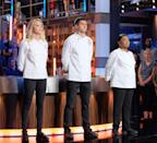 "<p>Unlike some reality shows, where contestants must stay on location until the show wraps filming, the contestants on <em>MasterChef</em> are <a href=""https://tv.avclub.com/what-it-s-like-to-be-a-contestant-on-masterchef-1798282063"" rel=""nofollow noopener"" target=""_blank"" data-ylk=""slk:allowed to return home"" class=""link rapid-noclick-resp"">allowed to return home</a> immediately upon elimination.</p>"