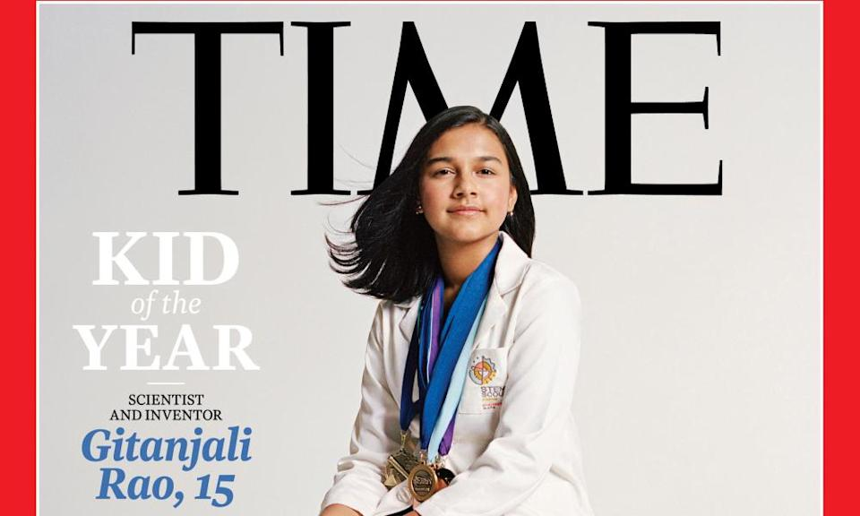 Gitanjali Rao, the first ever Time magazine kid of the year