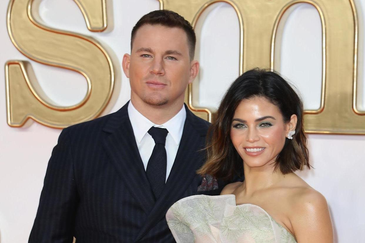 Exes: Tatum and Dewan (Getty Images)
