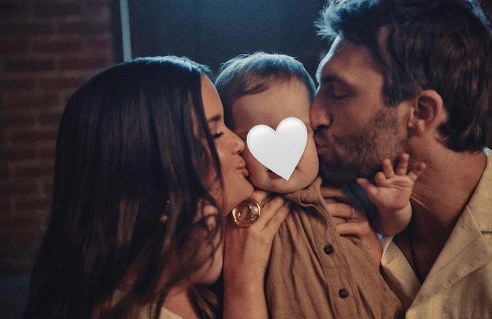 "<p>Maren Morris and Ryan Hurd's son <a href=""https://people.com/parents/maren-morris-ryan-hurd-welcome-son-hayes-andrew-first-photos/"" rel=""nofollow noopener"" target=""_blank"" data-ylk=""slk:Hayes Andrew"" class=""link rapid-noclick-resp"">Hayes Andrew</a> turned 1 on March 23.</p>"