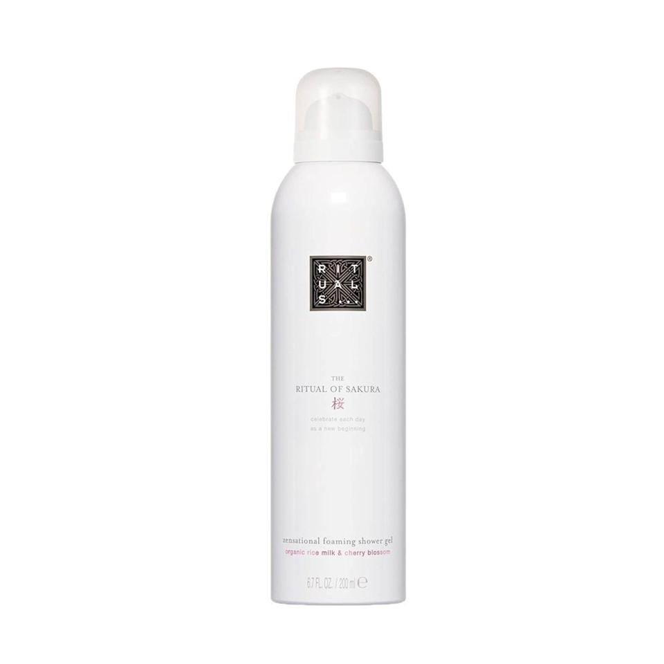 """""""This unique gel-to-foam shower gel lathers up to a hydrating formula with a subtle scent. It leaves my skin feeling so soft and provides a luxurious shower experience!"""""""