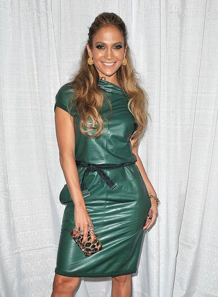 "Jennifer Lopez has been named <i>People's</i> Most Beautiful Woman of 2011. While the gorgeous 41-year-old ""American Idol"" host spends a lot of time getting glammed up for red carpet events, <a href=""http://www.people.com/people/package/article/0,,20360857_20481259,00.html"" target=""new"">Lopez tells the mag</a> she prefers the time she spends at home with hubby Marc Anthony and their 3-year-old twins, Max and Emme, without having a stitch of makeup on her face. ""That's when I'm happiest,"" she smiles. ""Just being able to touch my face and rub my eyes and put my fingers in my hair and not having to worry about messing it up is so much better."" As for her ""diva"" reputation, J.Lo admits, ""I kind of like it. We've kind of owned it now. But I certainly don't like and I've never been a person who has what they call 'diva behavior,' which is something they tried to pin on me for a long time."" James Devaney/<a href=""http://www.wireimage.com"" target=""new"">WireImage.com</a> - September 10, 2010"