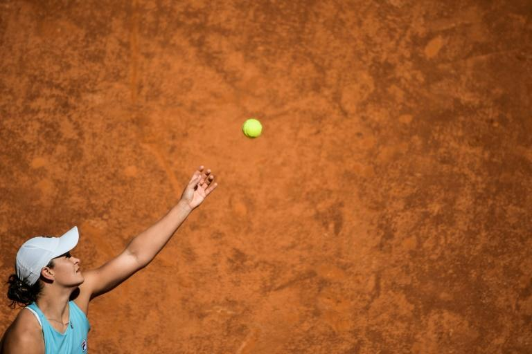 Barty is into the Italian Open quarter-finals for the first time