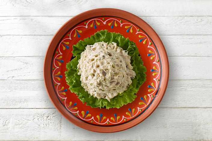 Chicken Salad Chick's Jalapeño Holly flavor has diced jalapeños that give it the perfect kick of spice. (Chicken Salad Chick)