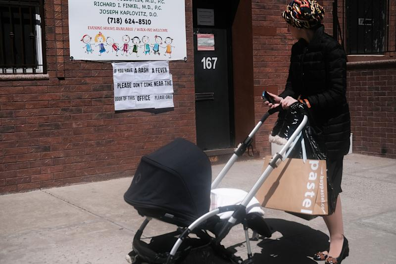 Measles Vaccine Order Tests New York City's Power