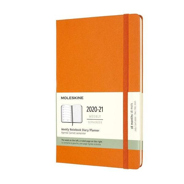 "You can't go wrong with Moleskine notebooks <em>or p</em>lanners. Their great quality makes them perfect for drawing & sketch diaries, reading and book journals, and of course, college and academic planning. $23, Amazon. <a href=""https://www.amazon.com/Moleskine-Weekly-Planner-Cadmium-Orange/dp/B07Y62KHC1/ref=sr_1_4?dchild=1&keywords=moleskine+planner&qid=1597254724&sr=8-4"" rel=""nofollow noopener"" target=""_blank"" data-ylk=""slk:Get it now!"" class=""link rapid-noclick-resp"">Get it now!</a>"