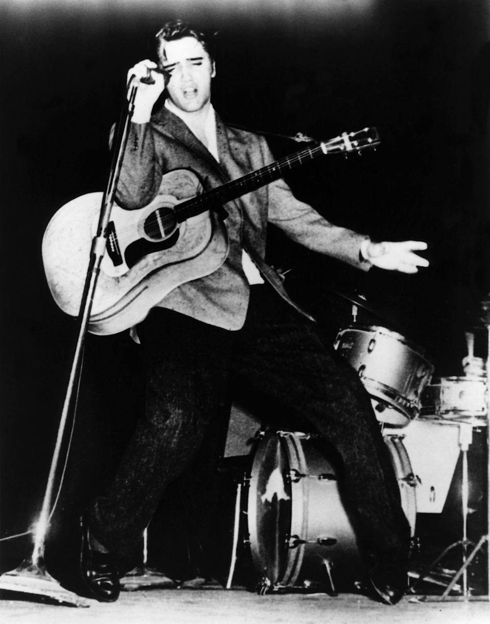 <p>Presley gained a following on tour, but it wasn't just his music that caught the eye of teenagers, it was his dance moves. The singer's unique gyrating hips became a signature move.</p>