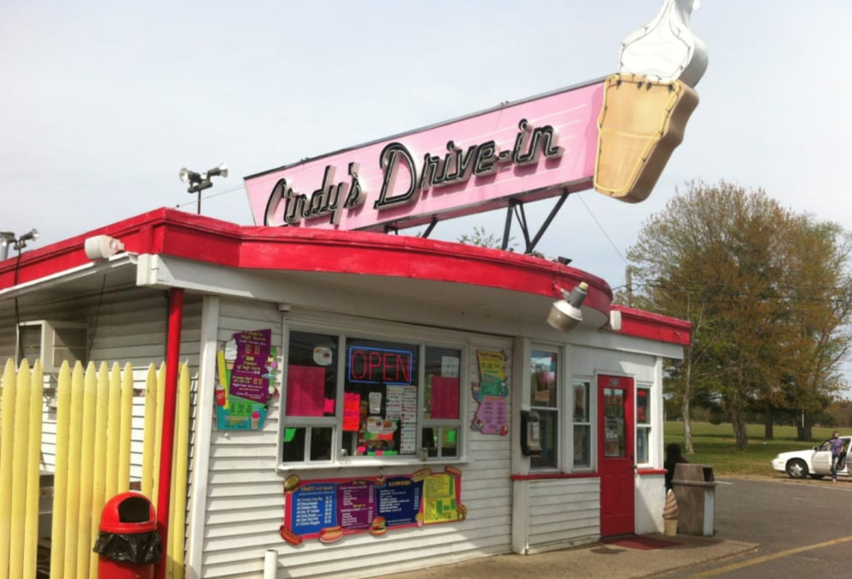 The owners of Cindy's Drive-In had no idea that their shop would be used in a rap video. (Photo: Yelp)