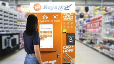 Keys NOW! vending machine makes car keys and house keys; poised to transform the retail key replacement industry.