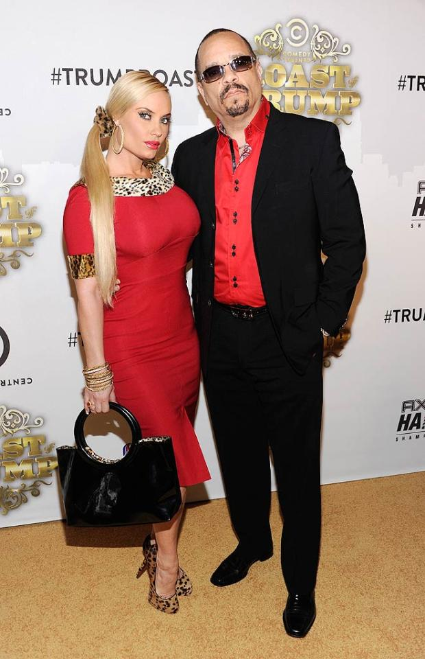 """""""Law & Order: SVU"""" star Ice-T stepped out with his wife Coco to support his fellow NBCer. Dimitrios Kambouris/<a href=""""http://www.wireimage.com"""" target=""""new"""">WireImage.com</a> - March 9, 2011"""