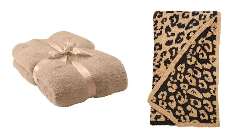 Celebrities (and Reviewed editors) love Barefoot Dreams' cozy throws.