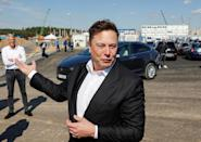 Tech entrepreneur Elon Musk's planned Tesla factory is the next vast construction site outside Berlin