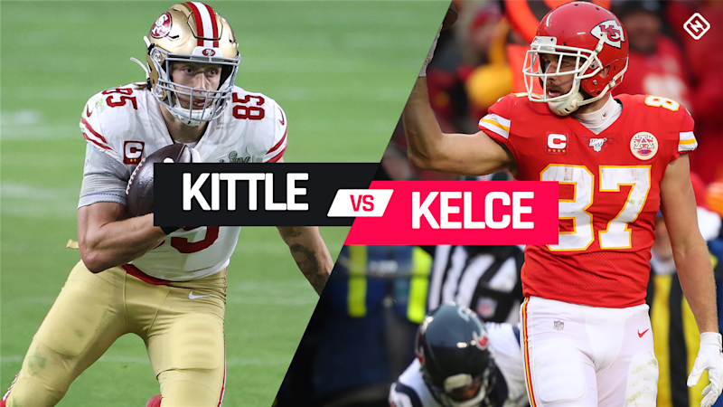 George Kittle vs. Travis Kelce: Which top-tier TE should you draft in fantasy?