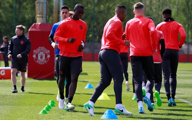 <span>Eric Bailly should be fit to play on Thursday</span> <span>Credit: Reuters </span>