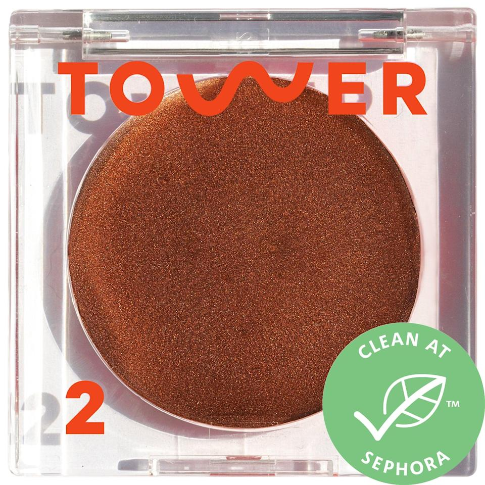 <p>This <span>Tower 28 Beauty Bronzino Illuminating Bronzer</span> ($20) is a bronzer in balm format, so it's easy to blend in the mineral-pigmented cream for a sun-kissed glow and let the moisturizing mango butter do its job, no matter where you are.</p>