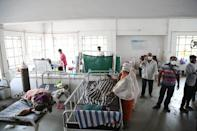 """<p>India rolled out one of the world's largest and most ambitious vaccination drives in January. </p> <p>The country has <a href=""""https://www.bloomberg.com/graphics/covid-vaccine-tracker-global-distribution/"""" rel=""""nofollow noopener"""" target=""""_blank"""" data-ylk=""""slk:administered an average"""" class=""""link rapid-noclick-resp"""">administered an average</a> of 2.6 million vaccinations a day, according to the Bloomberg Vaccination Tracker. At that rate, it would take two years for the country to vaccinate 75% of the population, or 1.38 billion people.</p>"""