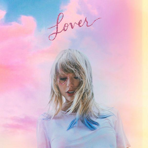 PHOTO: This cover image released by Republic Records shows 'Lover', the latest release by Taylor Swift. (Republic Records via AP)