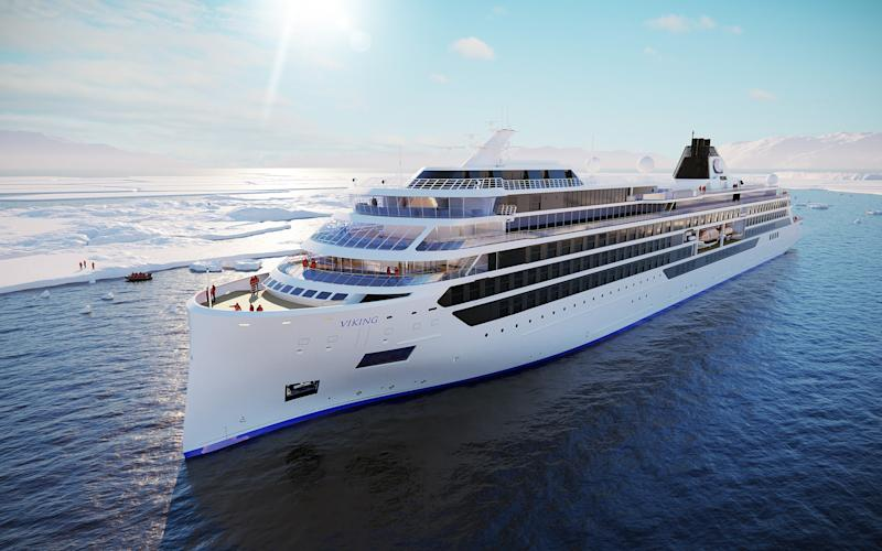 Eight inaugural cruises will take passengers to the Arctic, Antarctica and North America's Great Lakes - Viking