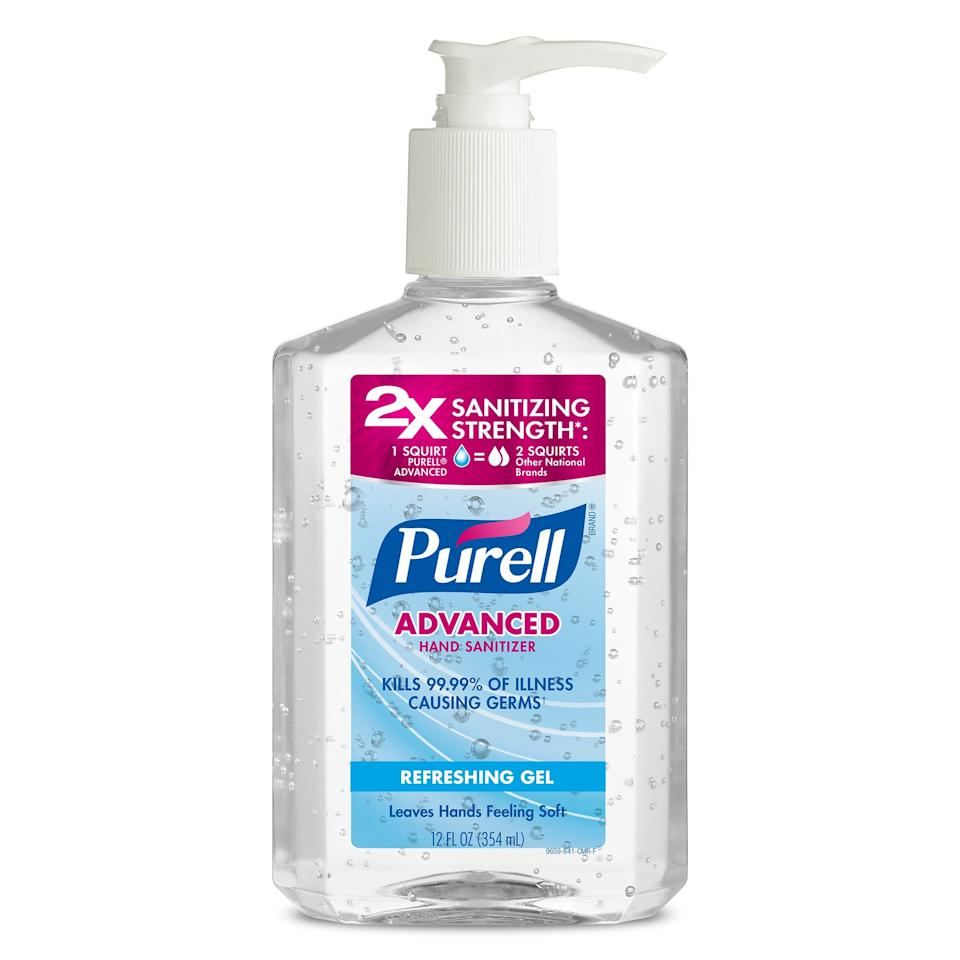 "<p>Zeichner uses Purell before and after each patient — which means sanitizing about 80 times per day. ""It contains 70 percent alcohol, effectively disinfects the skin, and does not dry out my hands,"" he says.</p> <p><strong>$3</strong> (<a href=""https://shop-links.co/1693788602597891326"" rel=""nofollow"">Shop Now</a>)</p>"