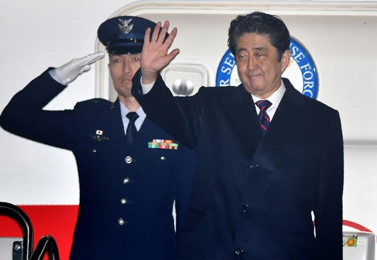 Japan's Prime Minister Shinzo Abe's visit to the Pearl Harbour site was announced earlier this month