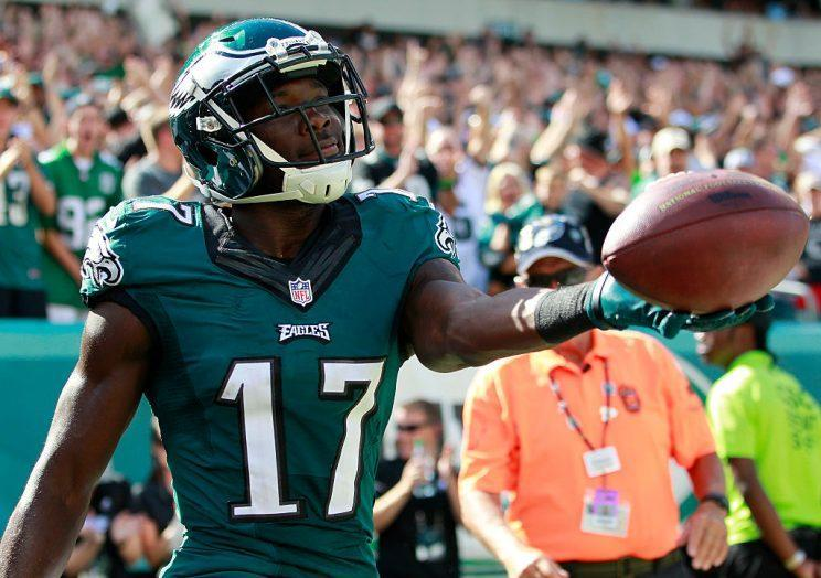 Nelson Agholor (Photo by Rich Schultz/Getty Images)